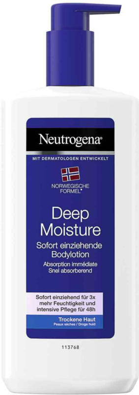 Neutrogena Deep Moisture Body Lotion 400 ml -