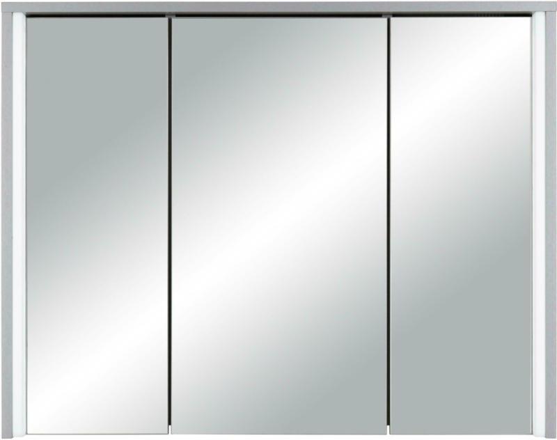 Spiegelschrank in Titanfarben