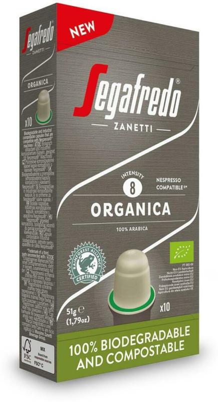 Segafredo Organica Kapseln kompostierbar