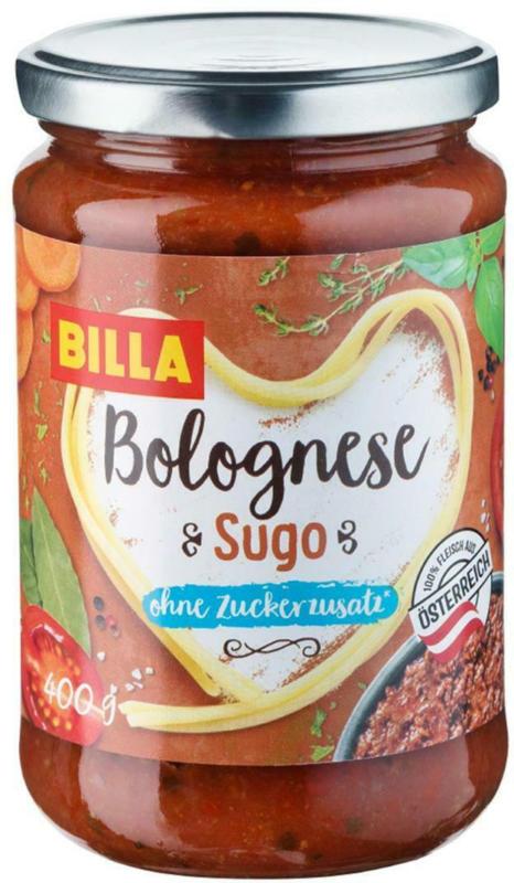 BILLA Sugo Bolognese