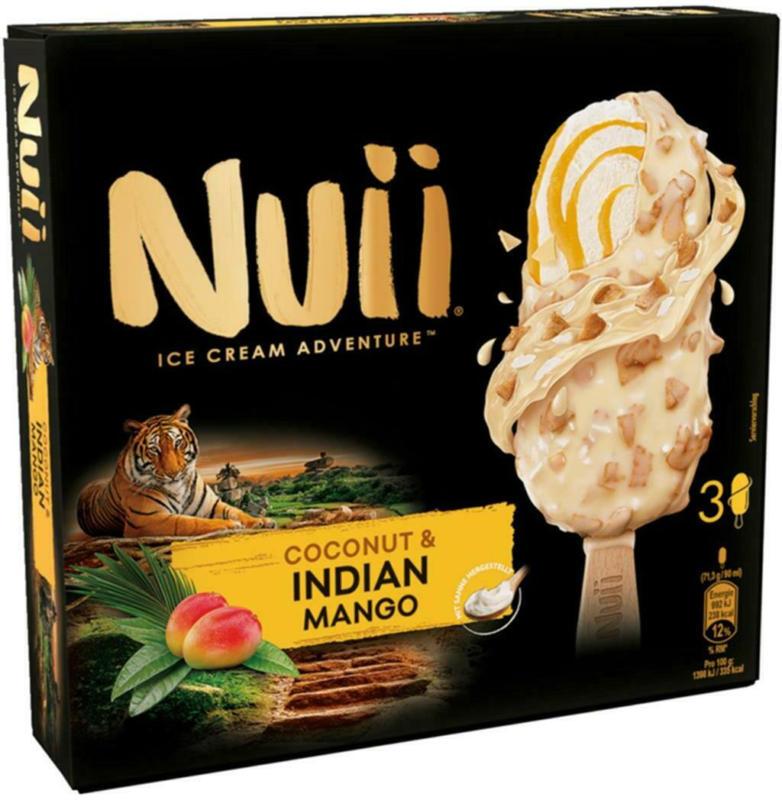 Nuii Coconut & Indian Mango 3er