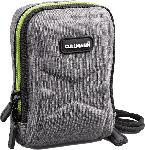 MediaMarkt Kameratasche OSLO Compact 200, Hardcase, Grau/Lemon