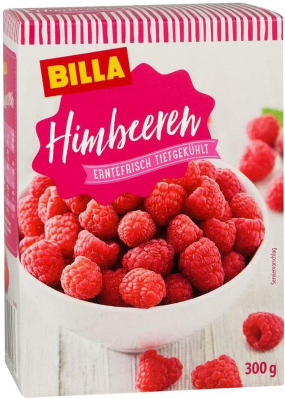 BILLA Himbeeren