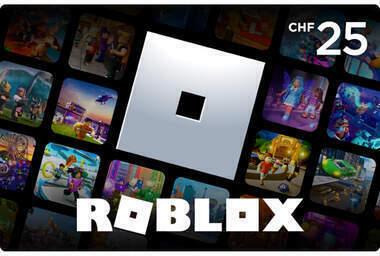 Geschenkkarte Roblox CHF 25.-