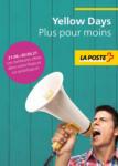 Die Post | La Poste | La Posta Yellow Days: Plus pour moins - al 02.05.2021