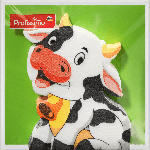 dm-drogerie markt Profissimo Motiv-Servietten gestanzt Kuh mit Glocke (33x33 cm)