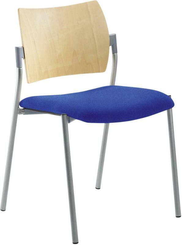 Besucherstuhl 'My Choice', blau