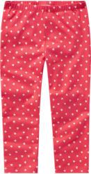 Mädchen Capri-Leggings mit Herzchen (Nur online)
