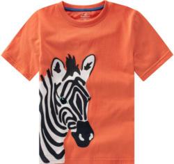 Kinder T-Shirt mit Zebra-Applikation (Nur online)