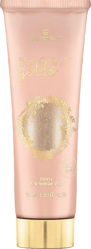 essence cosmetics Körperglitzer the glowin' golds body shimmer gel, I Love You So! 01