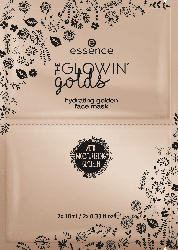 essence cosmetics Gesichtsmaske the glowin' golds hydrating, Golden State Of Mind 01