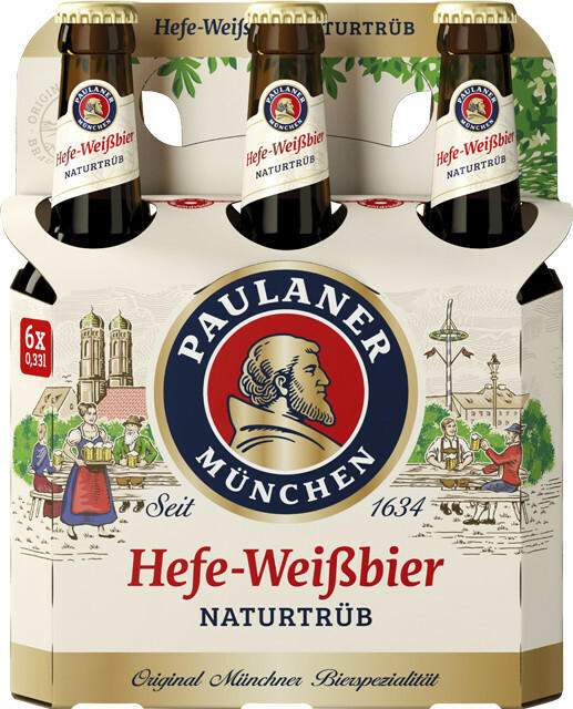 Paulaner Hefe-Weißbier Naturtrüb, Alkoholfrei