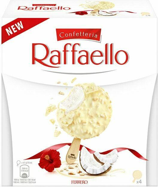 Ferrero Ice Cream Raffaello