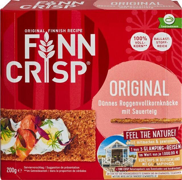Finn Crisp Original oder Rustikal