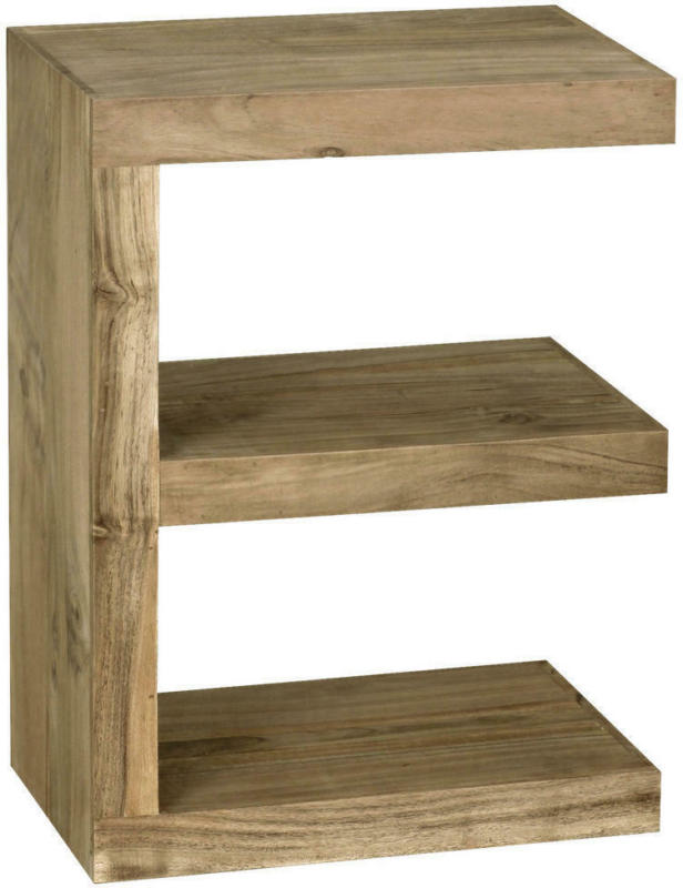 Beistelltisch in Holz 45/30/60 cm