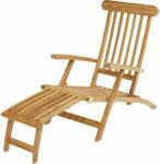"""HELLWEG Baumarkt Deckchair """"Titanic"""", 166x60x96 cm"""