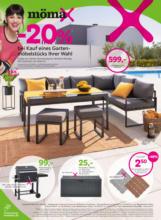 - 20 % bei Kauf eines Gartenmöbelstücks Ihrer Wahl
