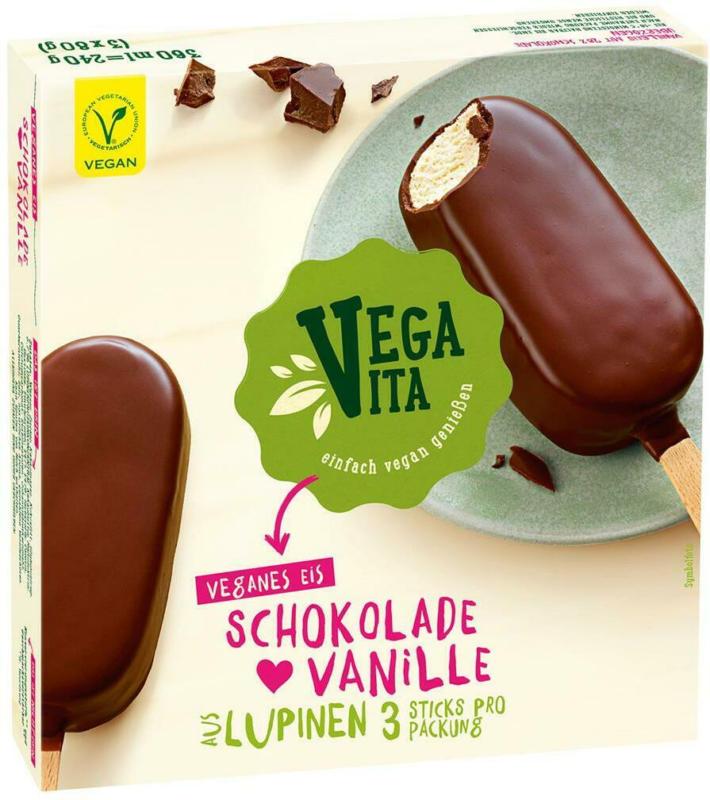 Vegavita Eissticks aus Lupinen