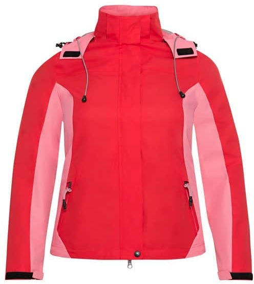 Damen-Jacke mit abnehmbarer Kapuze