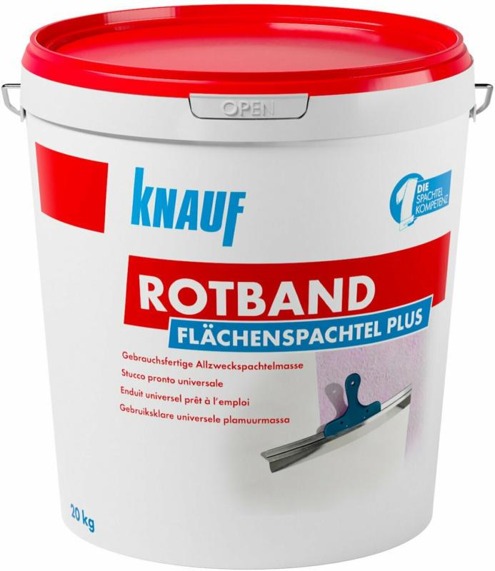 Knauf Rotband Flächenspachtel Plus 20 kg