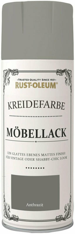 Rust-Oleum Kreidefarbe-Möbellack Anthrazit matt 400 ml