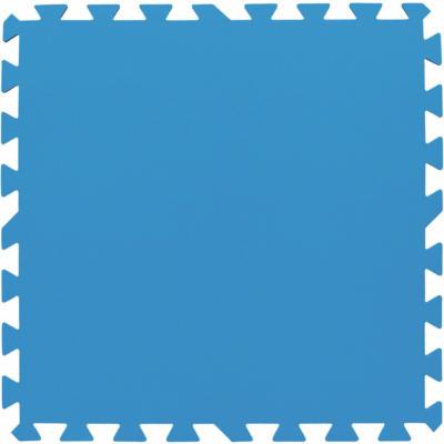 Flowclear Pool-Bodenschutzfliesen-Set Blau 9 Stk. á 50 x 50 cm