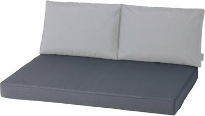 Madison Palettenauflage Outdoor Panama Grey 120 cm x 80 cm