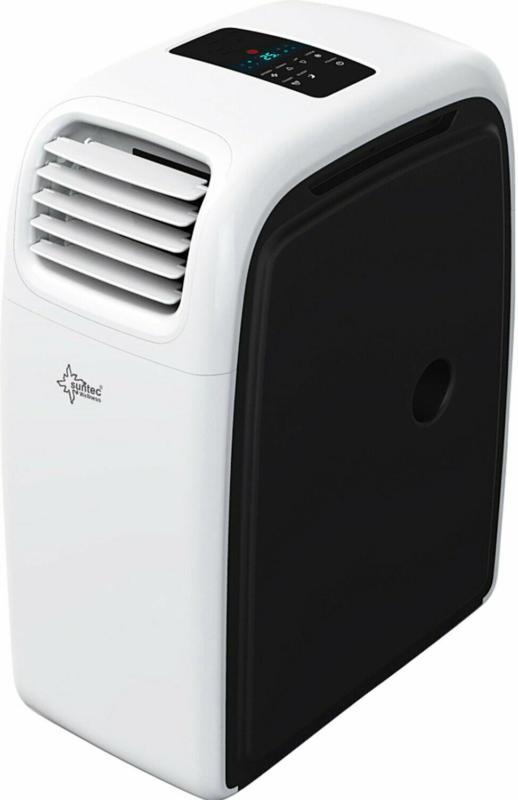 Suntec Multifunktions-Klimaanlage Transform Eco R290 Weiß-Schwarz EEK: A