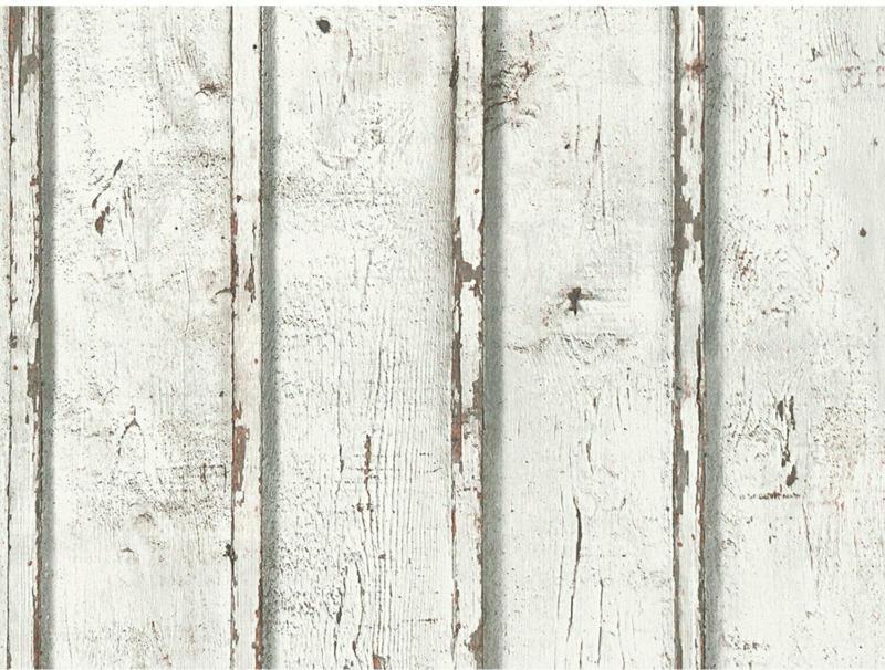 Finest Selection Vliestapete Dekora Natur 6 Holz Grau