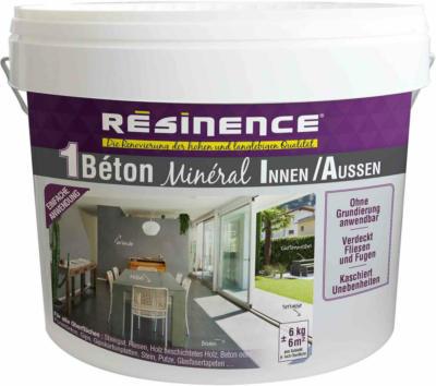 Resinence Beton Mineral Nr. 14 Hellgrau 6 kg