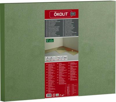 Ökolit Parkett- & Laminatunterlage Holzfaserplatte 5 mm