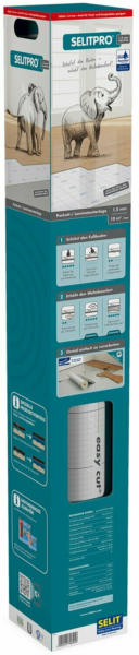 Selitpro Parkettunterlage / Laminatunterlage AquaStop 1,5 mm 10 m²