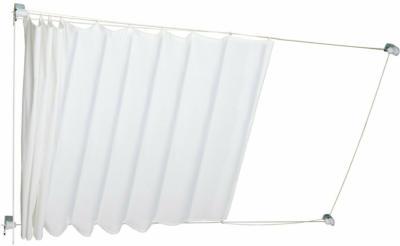 Seilspannmarkise Caldera 270 cm x 140 cm Weiß