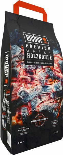 Weber Premium Holzkohle 5 kg