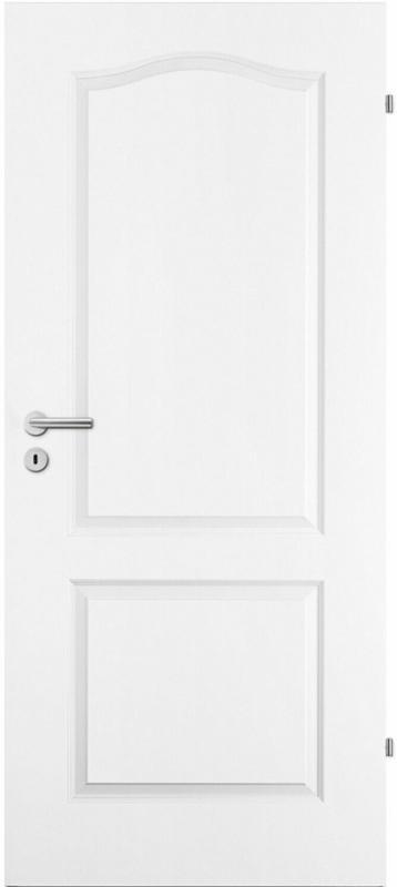 Zimmertür Prestige Weißlack 73,5 cm x 198,5 cm Anschlag Rechts