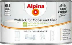 Alpina Weißlack für Möbel & Türen seidenmatt 300 ml