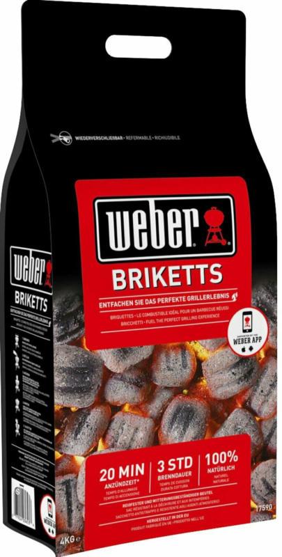 Weber Grillbrikett 4 kg