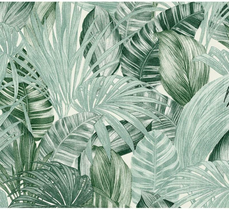 Finest Selection Vliestapete Dschungel Grün