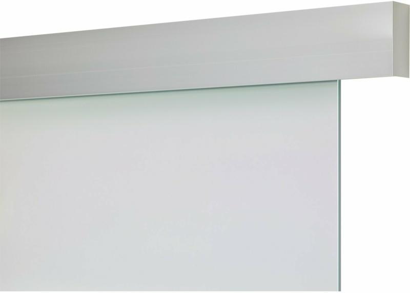 Schienen-Set Baseline Aluminium Silber Optik für Glas 1-fl. 1900 mm inkl. Griff