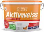 OBI Schöner Wohnen Innenwandfarbe Aktivweiss konservierungsmittelfrei matt 12 Liter - bis 30.06.2021