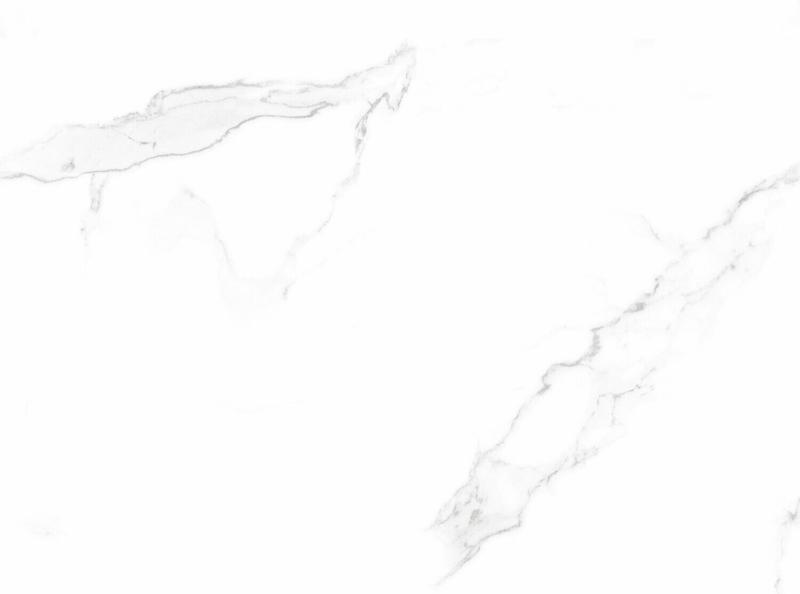 Bodenfliese Statuario Classic Feinsteinzeug Weiß Poliert 60 cm x 60 cm