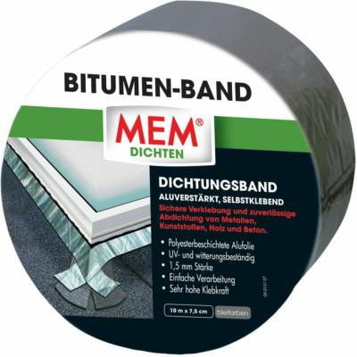 MEM Bitumen-Band Blei 7,5 cm x 10 m