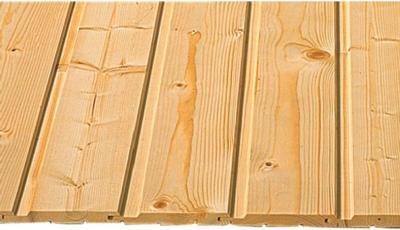 Profilholz Fichte/Tanne Nut und Feder 12,5 mm x 96 mm x 2.100 mm