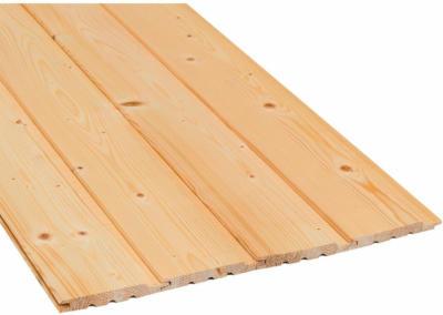 Profilholz Schrägprofil Fichte/Tanne Nut und Feder 12,5 mm x 96 mm x 2100 mm