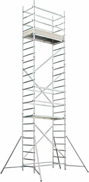 Hymer Modulgerüst AL700 Modul 1 + 2 + 3 Arbeitshöhe 6,45 m