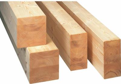Brettschichtholz SI aus Fichte/Tanne 60 mm x 80 mm x 3.000 mm