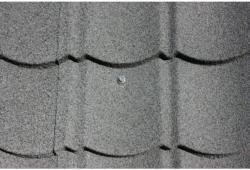 Easypan Metalldachpfanne Ziegeloptik Granulat Schiefer