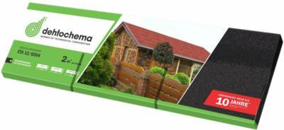 Bitumen-Rechteckschindel Schwarz 2 m²/ Paket