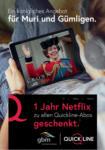 PROFITAL 1 Jahr gratis Netflix mit gbm & quickline - al 30.04.2021