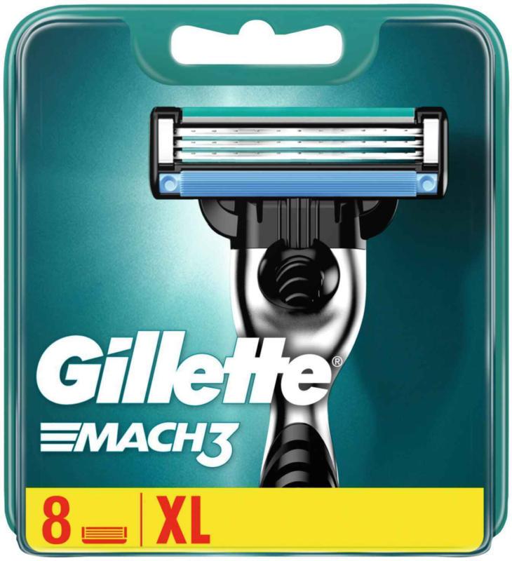 Gillette Lames De Rasoir Mach 3er -